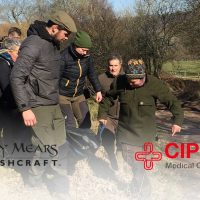 CIPHER team teaching Ray Mears