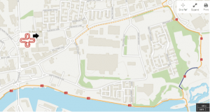 Cycle Route to CIPHER location