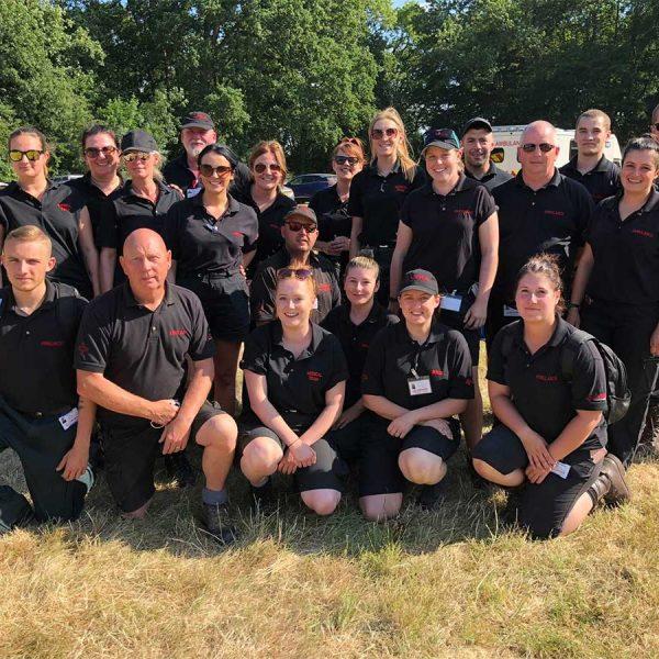 Cipher team at tough mudder